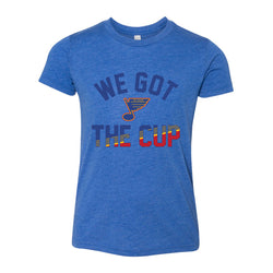 St. Louis Blues Series Six Youth 'We Got The Cup' Tee - Royal