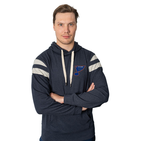 St. Louis Blues The Normal Brand Puremeso Retro Hoodie - Navy