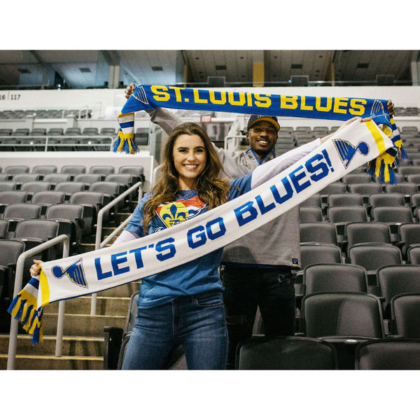 St. Louis Blues All Together Now Scarf - STL Authentics