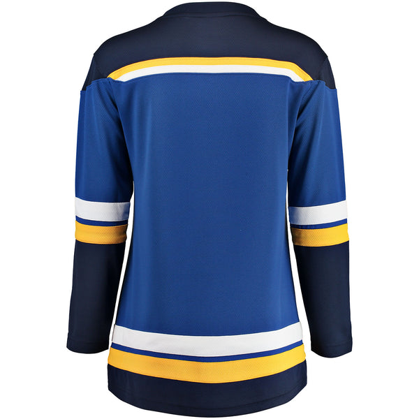 St. Louis Blues Ladies NHL Home Breakaway Jersey - Blank