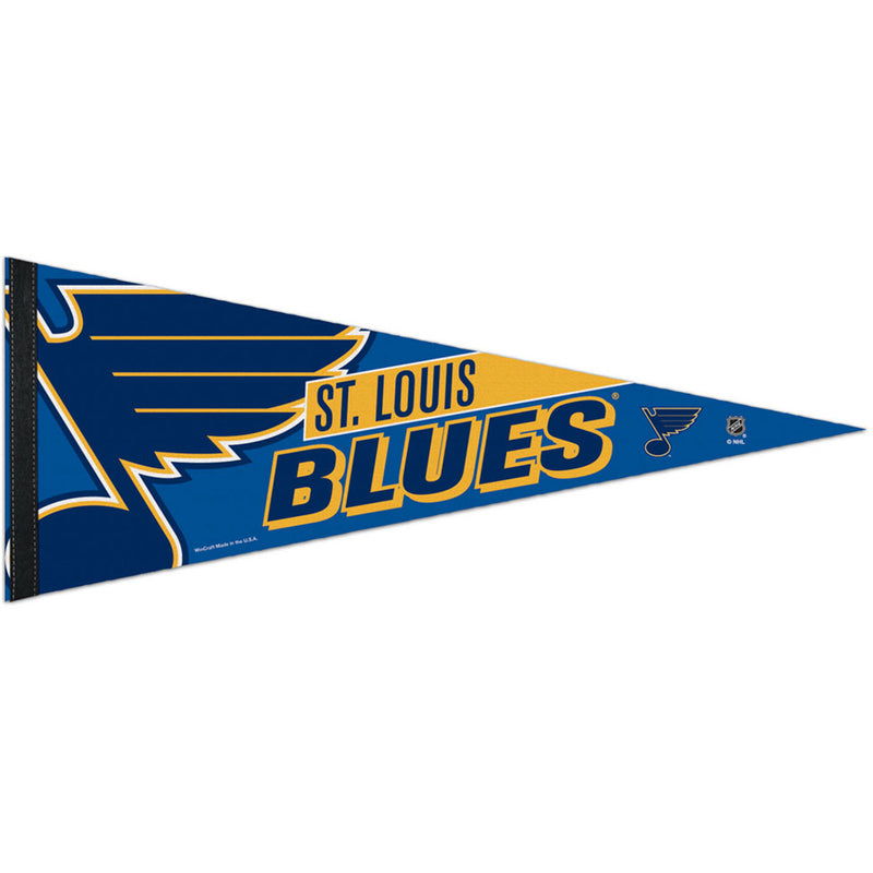 St. Louis Blues WinCraft 12x30 Felt Pennant | STL Authentics