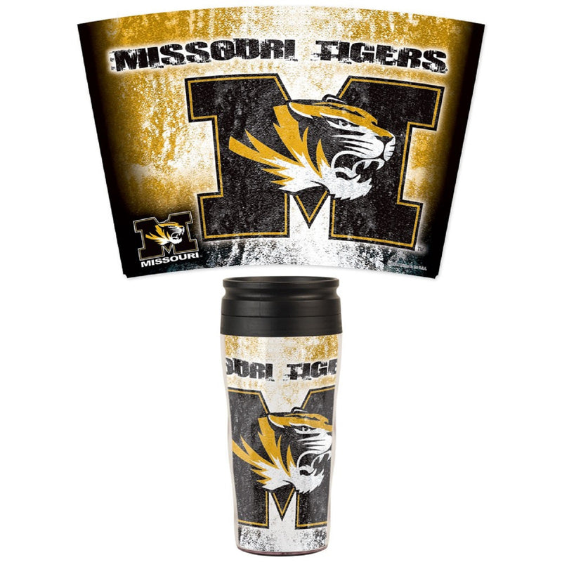 University of Missouri White Travel Mug - STL Authentics