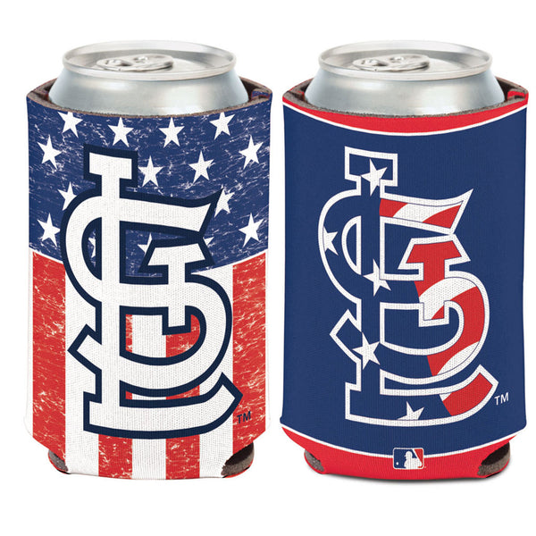 St. Louis Cardinals WinCraft Stars & Stripes 12oz Can Cooler | STL Authentics