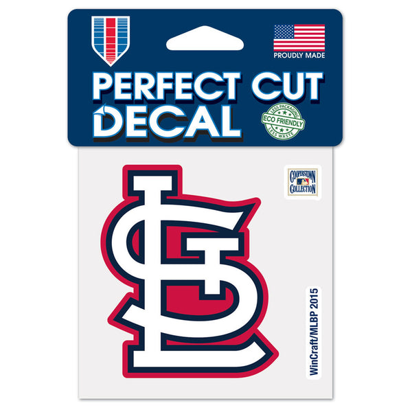 St. Louis Cardinals WinCraft 4x4 Perfect Cut Color Decal | STL Authentics