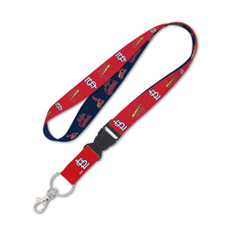 St. Louis Cardinals WinCraft 1-inch Lanyard with Detachable Buckle - STL Authentics