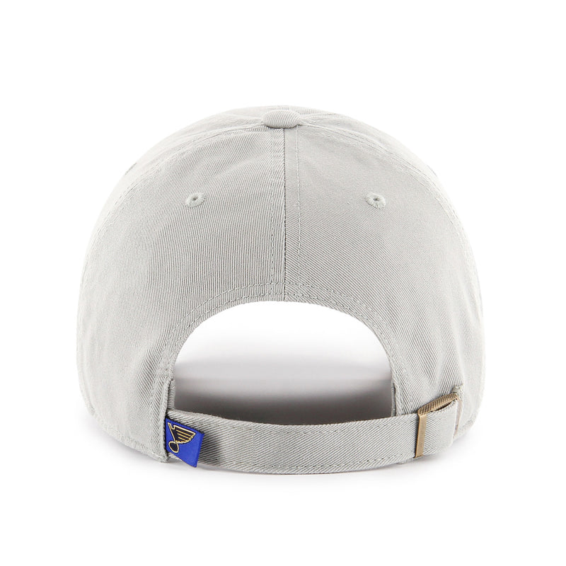 St. Louis Blues 47 Brand Grey BlueNote Hat