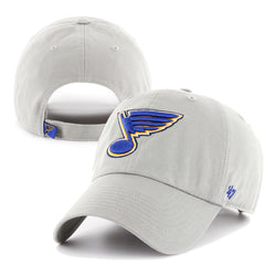St. Louis Blues 47 Brand Grey BlueNote Hat | STL Authentics