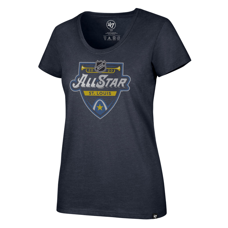 NHL All-star 2020 47' Women's Scoop Neck Event Tee - STL Authentics