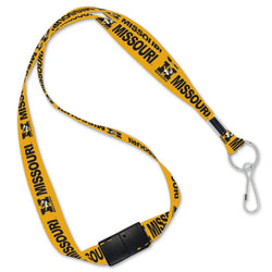 University of Missouri Lanyard | STL Authentics