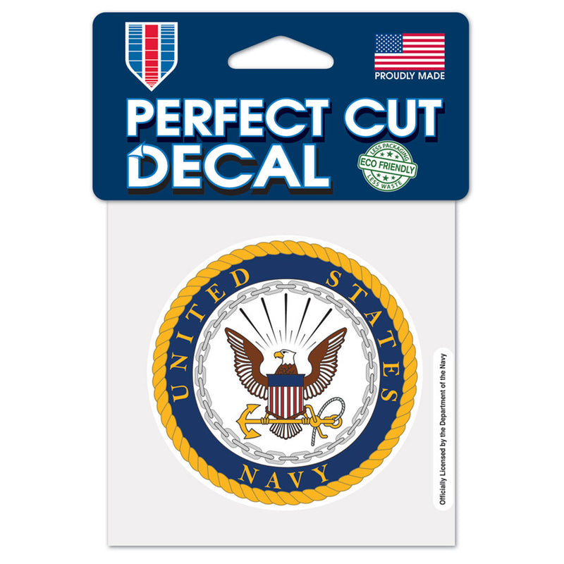Navy WinCraft 4x4 Perfect Cut Color Decal | STL Authentics