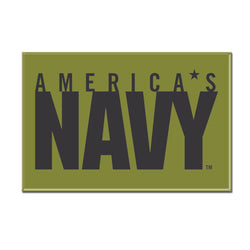 Navy WinCraft 2x3 Metal Fridge Magnet | STL Authentics