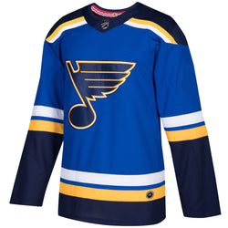 St. Louis Blues adidas Climalite Mens Authentic Pro Home Jersey - Blank or Custom - STL Authentics