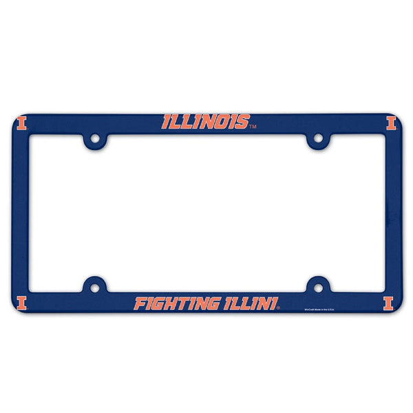 University of Illinois License Plate Frame | STL Authentics