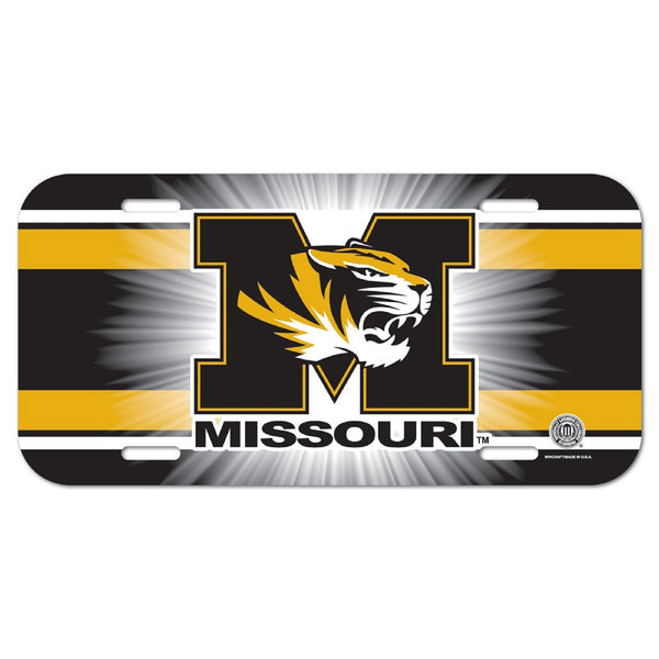 University of Missouri License Plate - STL Authentics