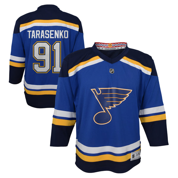 St. Louis Blues Outerstuff Youth NHL Vladimir Tarasenko #91 Home Replica Jersey - Blue - STL Authentics