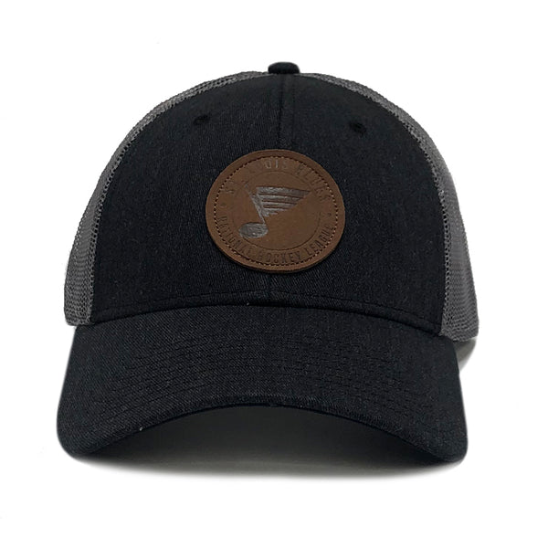 Blue's 70's Note Leather Cap