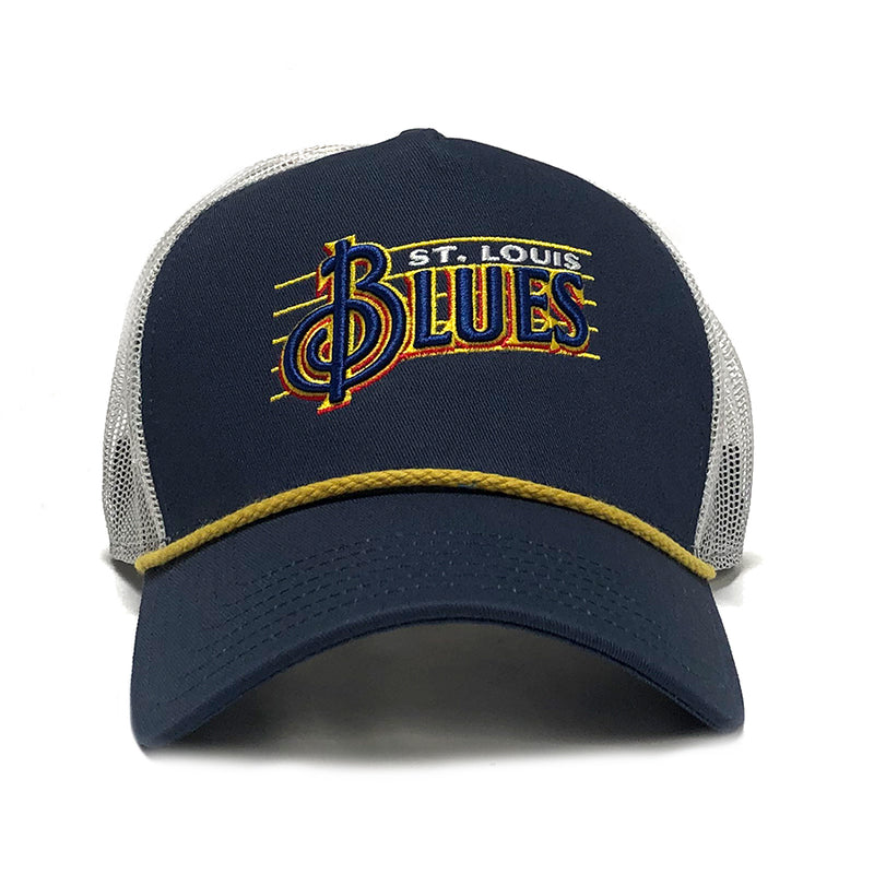 Blues Treble Clef Rope Bill Cap