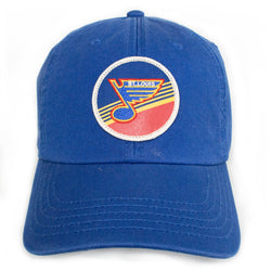 St. Louis Blues Adjustable Hepcat Hat - STL Authentics