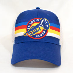 St. Louis Blues Adjustable Daylight Hat - STL Authentics