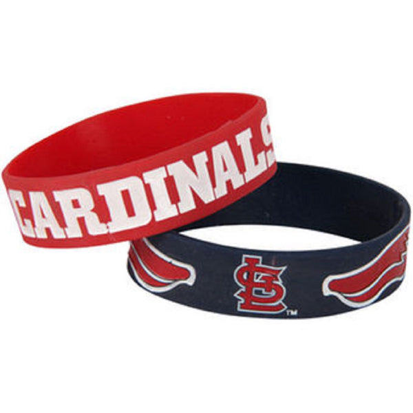 St. Louis Cardinals Rubber Bracelet - STL Authentics
