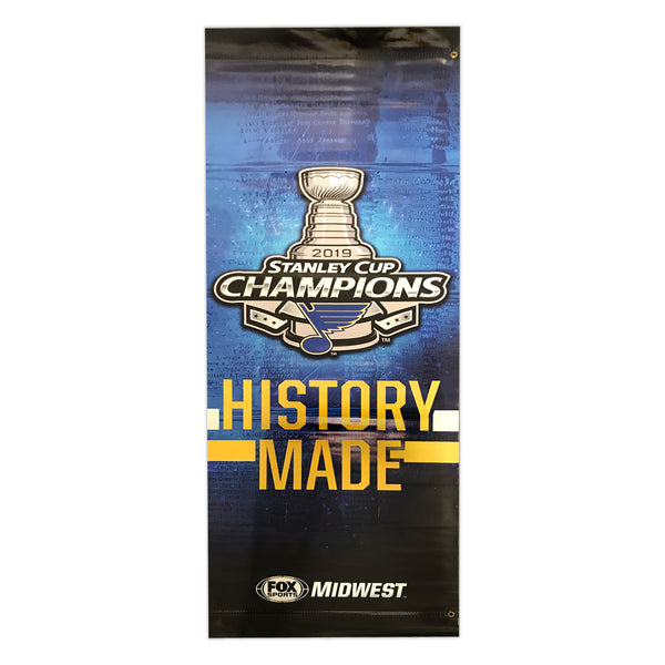 2019 Stanley Cup Champions/ Steen Streetpole banner