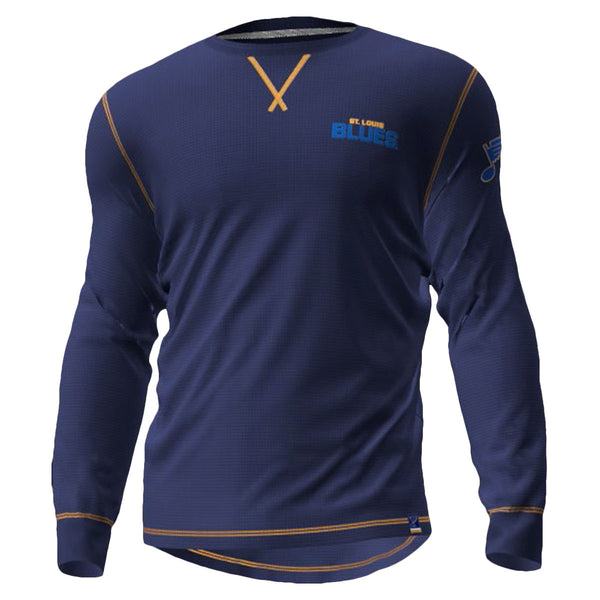 St. Louis Blues L/S MILITARY THERMAL - STL Authentics