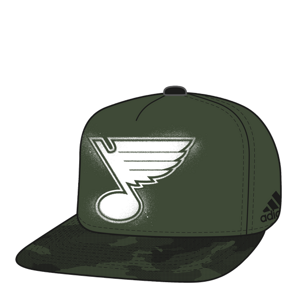 Adidas Military Appreciation Flat Brim Hat