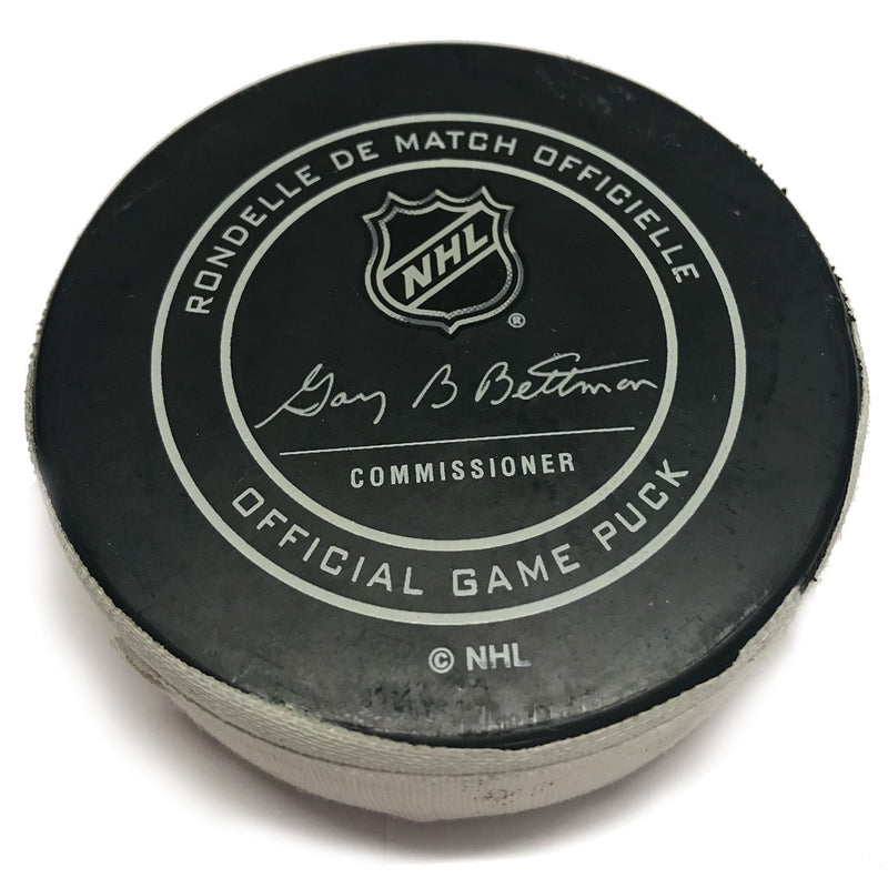 St. Louis Blues Game Scored Puck Nashville Predators #15 Craig Smith - Dec. 27