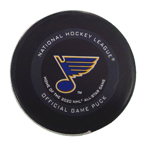 Blues Goal Scored Puck #90 Ryan O'Reilly - January 15, 2020