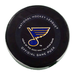 Avalanche Goal Scored Puck #29 Nathan MacKinnon - October 21, 2019 - STL Authentics