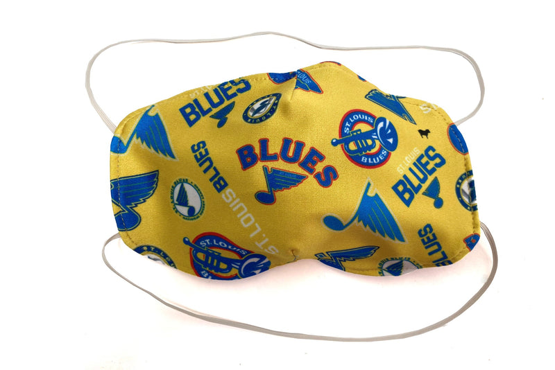 St. Louis Blues Face Coverings by GOLDSHEEP - STL Authentics