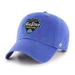 NHL All-Star 2020 47 Brand Primary Event Logo Clean Up Cap - Royal - STL Authentics