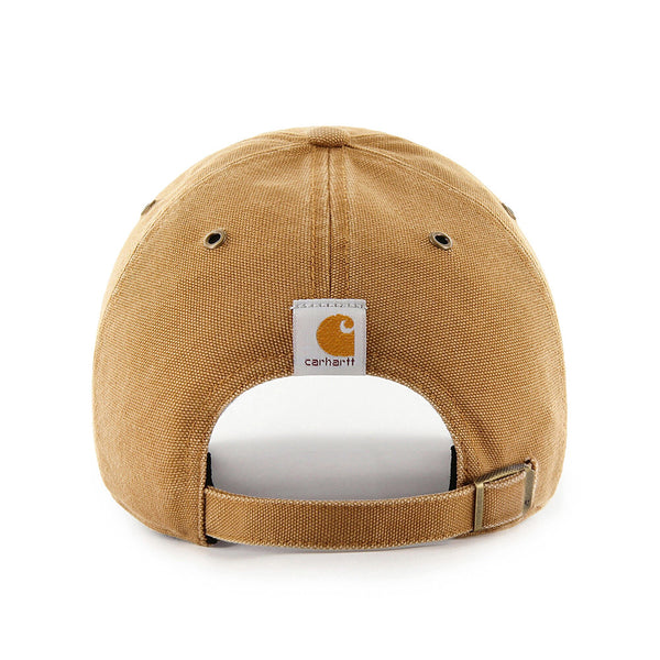 St. Louis Blues Carhartt x '47 Brand Clean Up Adjustable Slouch Hat - Brown