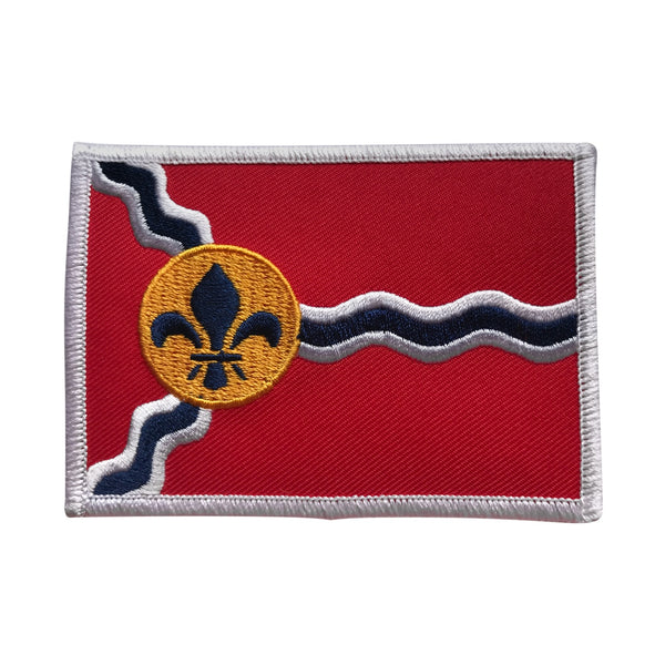 STL Flag Heat Applicated Patch