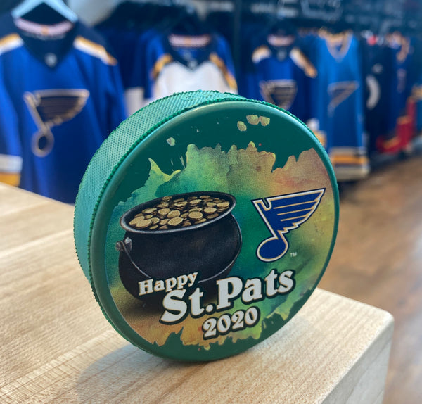 2020 St. Patrick's Day Puck