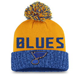 Fanatics Women's St. Louis Blues Iconic Cuffed Knit Hat with Pom
