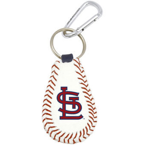 St. Louis Cardinals Leather Key Fob | STL Authentics
