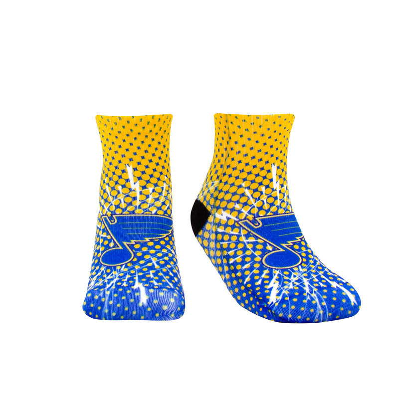 St. Louis Blues Toddler Lightning Socks - STL Authentics