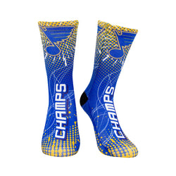 St. Louis Blues Youth Stanley Cup Champs Lightning Socks