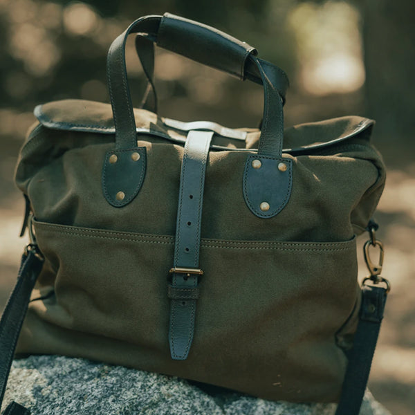 The Normal Brand St. Louis Blues Laptop Utility Bag- Olive