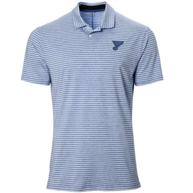 St. Louis Blues NIKE Dry Vapor Stripe TW Polo - STL Authentics