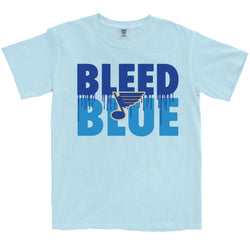 Bleed Blue T-Shirt - STL Authentics