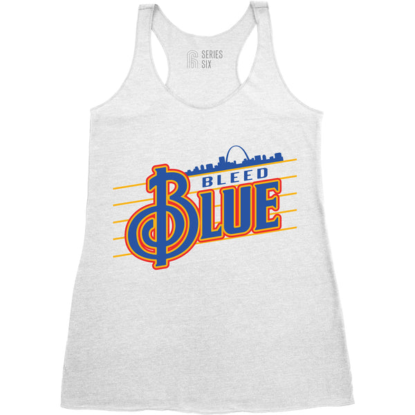 Bleed Blue Trebleclef Tank - STL Authentics