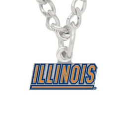 University of Illinois Necklace and Charm | STL Authentics