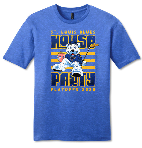 House Party Louie Playoffs 2020 T-shirt - STL Authentics