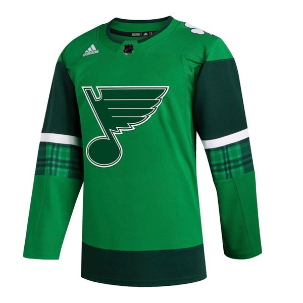 St.Louis Blues adidas 2020 St.Patrick's day jersey