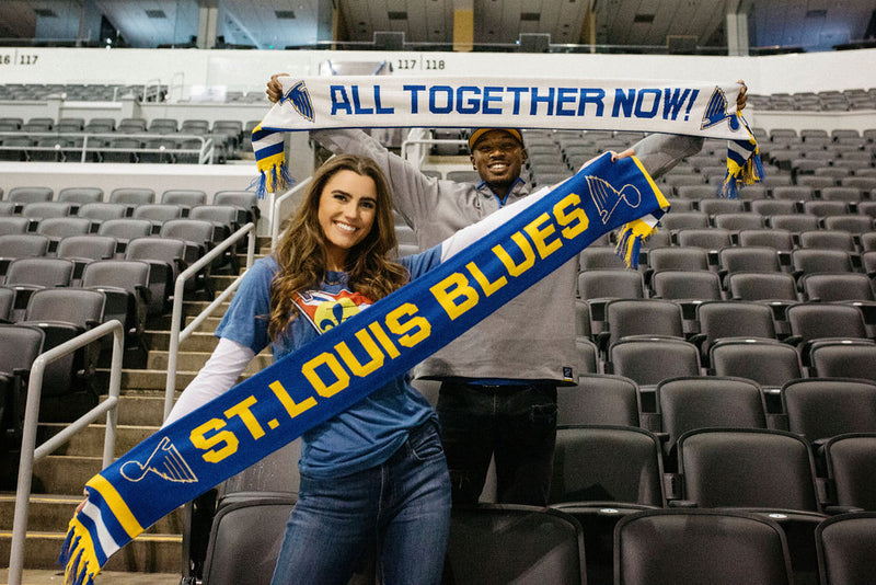St. Louis Blues Two Sided Scarf