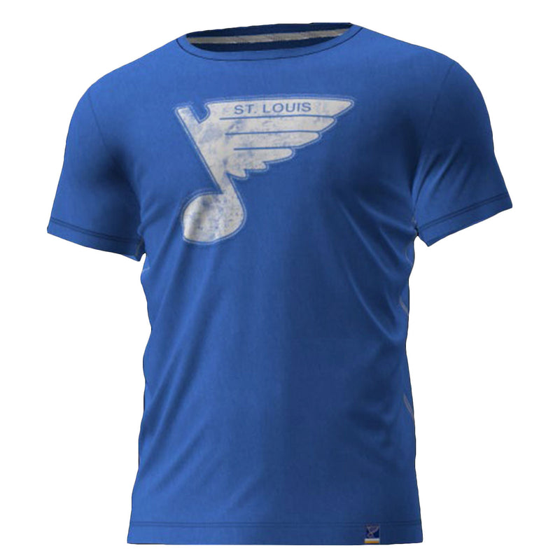 SAUCE SS CREW TEE-  ROYAL HERITAGE BLUENOTE - STL Authentics