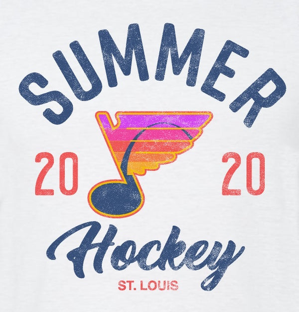 Women's Summer Hockey 2020 Raglan Tank - STL Authentics