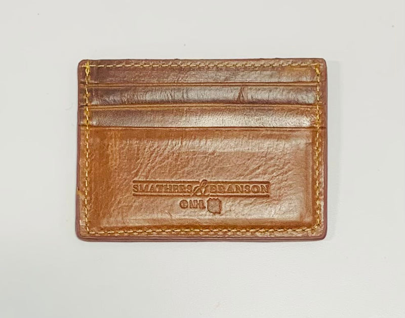 Smathers & Branson Needle Point Wallet
